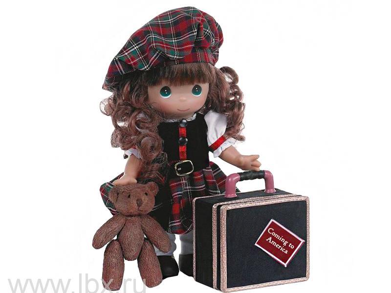 Кукла `Путешественница (Шотландия)` 30 см, Precious Moments (Драгоценные Моменты)- увеличить фото