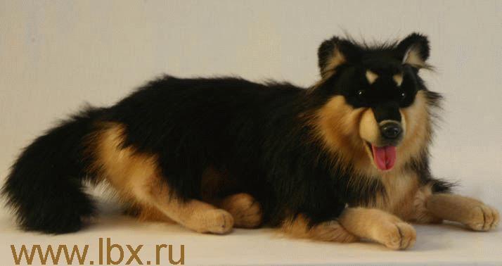 Игрушка от Hansa (Ханса)  Собака финская лежащая