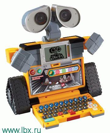 Обучающий компьютер-робот Валл-И VTech
