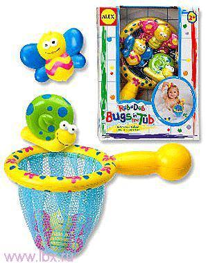 Игрушка для ванны `Поймай бабочку` Alex (Алекс)