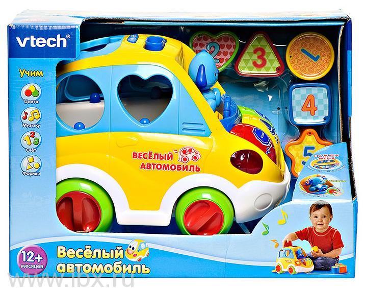 Развивающая игрушка Веселый автомобиль VTech