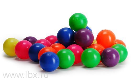 Набор из 56 разноцветных мячиков Calida (Калида)