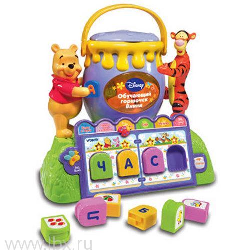 Развивающая игрушка `Обучающий горшочек Винни` VTech