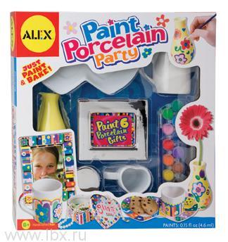 Набор фарфоровой посуды для росписи Alex (Алекс)