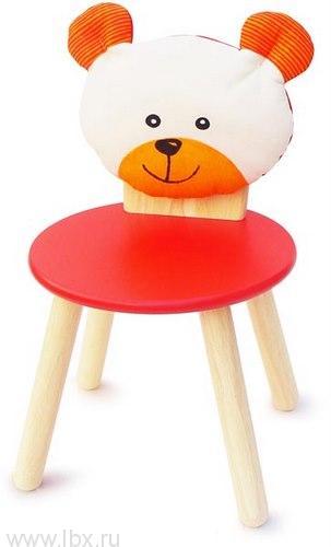 Стул для вечеринки красный `Медведь` Im Toy (Ай эм той)