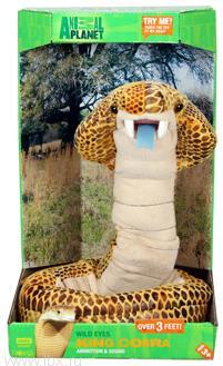 Интерактивная игрушка `Кобра` Animal Planet (Энимал Пленет)
