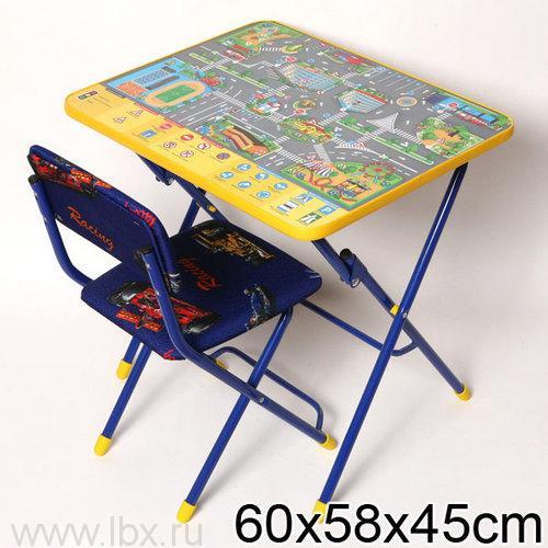 Набор детской мебели `Правила дорожного движения` Nika (Ника)