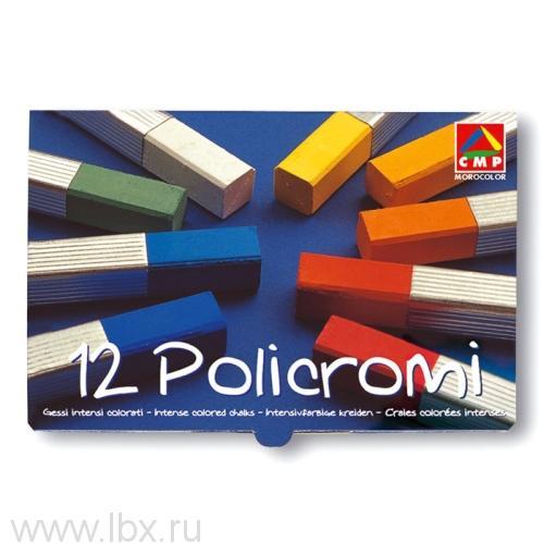 Мелки художественные Policromi (12 цветов) Primo (Примо)