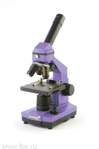 Микроскоп Levenhuk (Левенгук) Rainbow 2L NG AmethystАметист