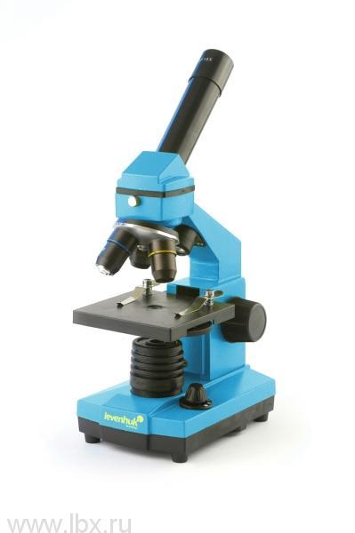 Микроскоп Levenhuk (Левенгук) Rainbow 2L NG AzureЛазурь