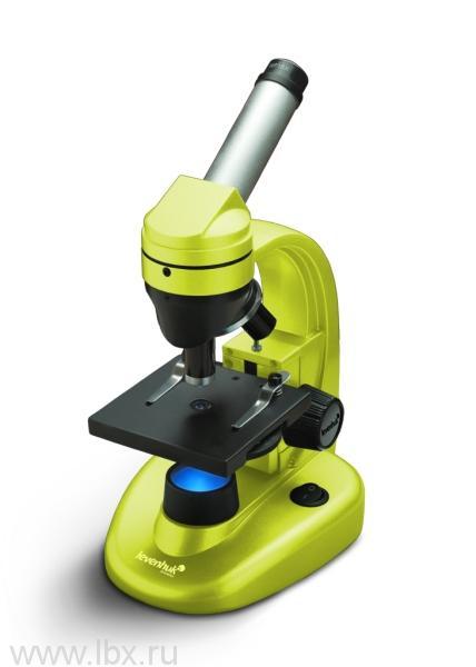 Микроскоп Levenhuk Rainbow 50L  NG LimeЛайм