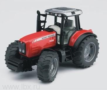 Трактор `Massey Ferguson 7480` 02040 от Bruder (Брудер)