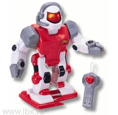 Робот красный, движущийся с пультом управления и световыми эффектами Keenway (Кинвей)
