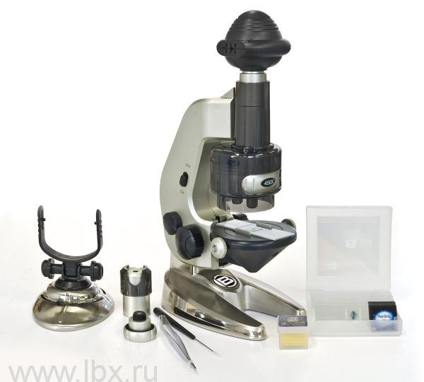 Цифровой микроскоп (4 в 1) Bresser JUNIOR (Брессер Джуниор)