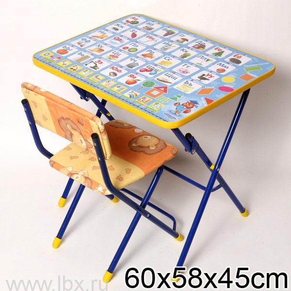 Набор детской мебели `Азбука` Nika (Ника)