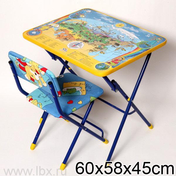 Набор детской мебели `Познаем мир` Nika (Ника)