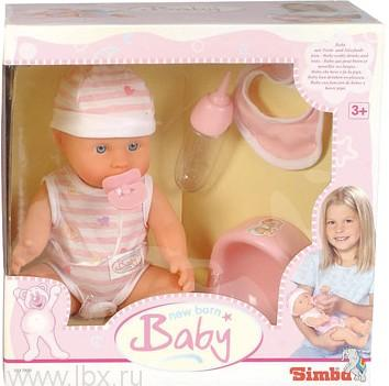 Кукла-пупс пьет-писает Simba (Симба)