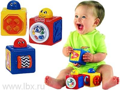 Кубики с сюрпризами  Fisher-Price (Фишер-Прайс)