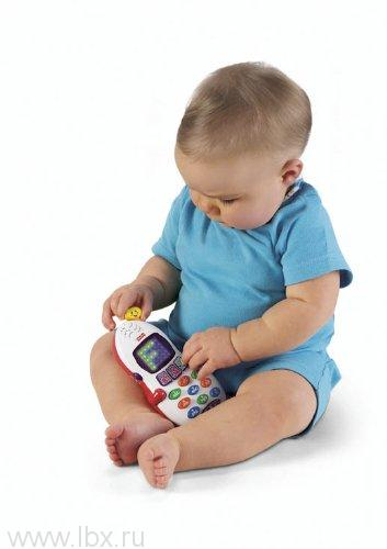 Обучающий телефон `Смейся и учись`  Fisher-Price (Фишер-Прайс)