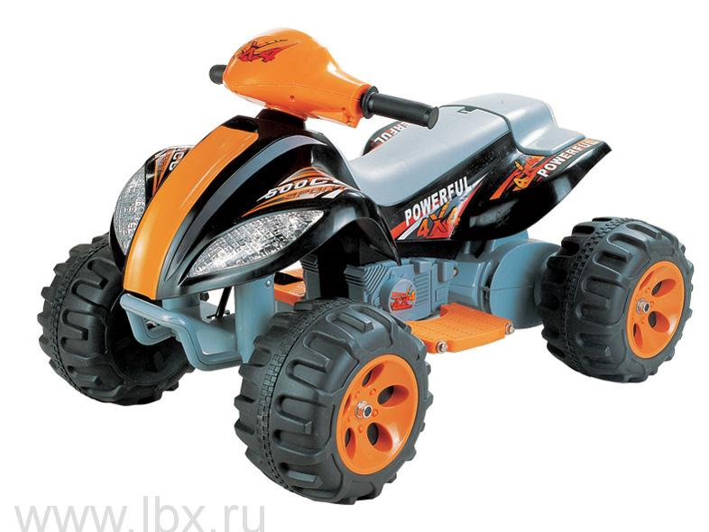 Детский электроквадроцикл NeoTrike Quadro (Неотрайк Квадро) черный