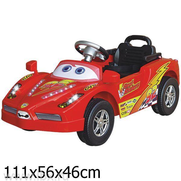 Электромобиль Bugati (Бугати) EV5191 красный