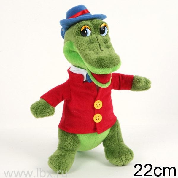 Мягкая игрушка `Крокодил Гена` Мульти-Пульти