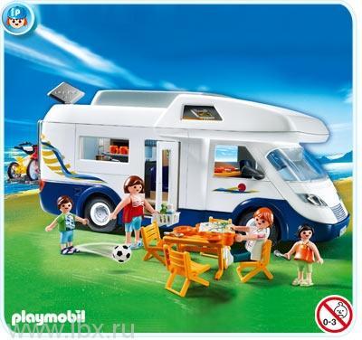 Семейный дом на колесах  Playmobil (Плеймобил)