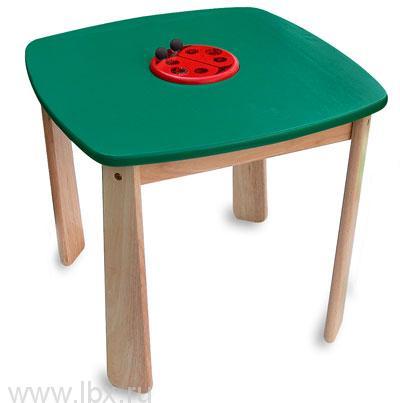Столик деревянный, зеленый Im Toy (Ай эм той)