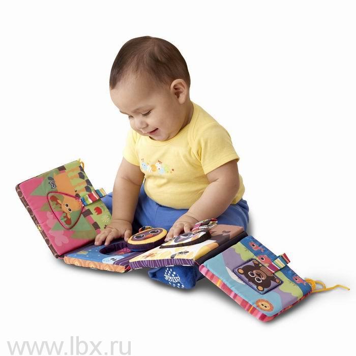 Развивающая игрушка `Книжка-пазл` Learning Curve (Ленинг Курв)