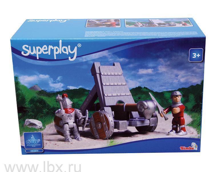 Игровой набор `Стенобитное орудие`  Simba Superplay (Симба Суперплей)