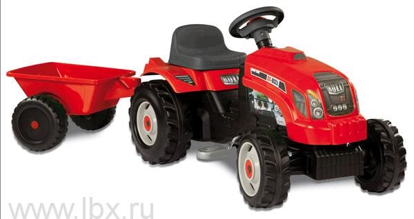 Трактор `GM Bull` красный Smoby (Смоби)