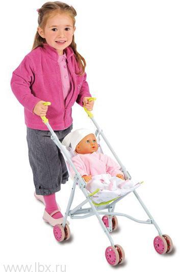 Прогулочная коляска-трость для пупса Smoby (Смоби)