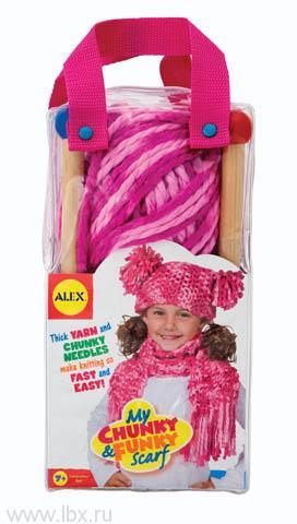 Набор для вязания шапки и шарфа Alex (Алекс)