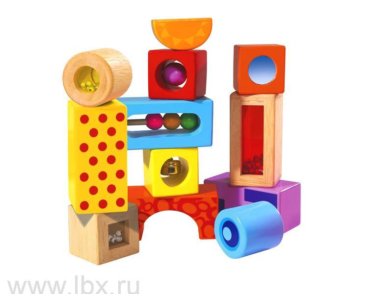 Кубики со звуком Eichhorn (Эикорн)