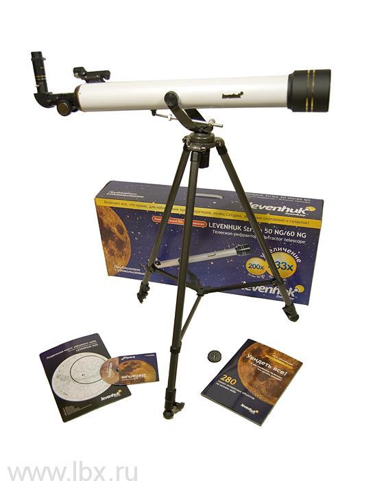 Телескоп Levenhuk (Левенгук) Strike 60 NG