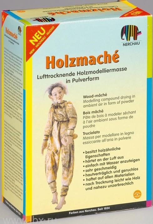 Папье-маше из деревянной стружки 200 г Nerchаu