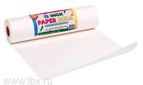 Бумага белая для рисования в рулоне Alex (Алекс)