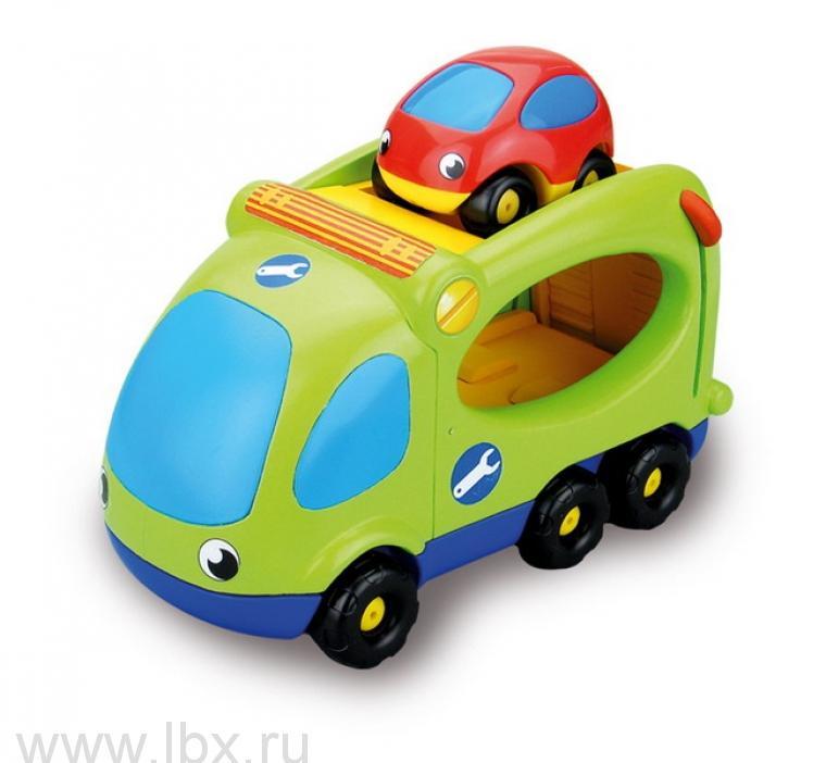 Эвакуатор и машинка Vroom Planet Smoby (Смоби)