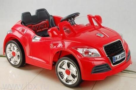 Детский электромобиль NeoTrike Cabrio A (Неотрайк Кабрио) красный с пультом радиоуправления