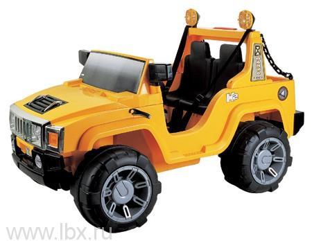 Детский электромобиль джип NeoTrike Commando (Неотрайк Коммандо) желтый