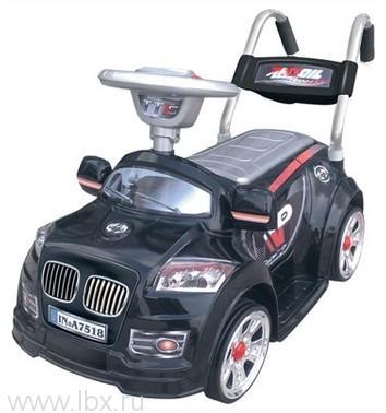 Детский электромобиль NeoTrike Mini B  (Неотрайк Мини) черный