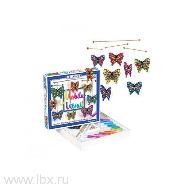 Воздушный витраж `Бабочки` Sentosphere (Сентосфер)