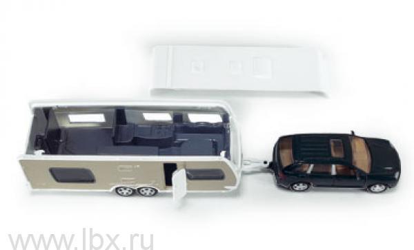 Машина с домом на колесах и аксессуарами Siku (Сику)