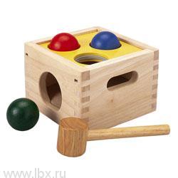 Забивалка Молоток с шарами Plan Toys (План Тойз)