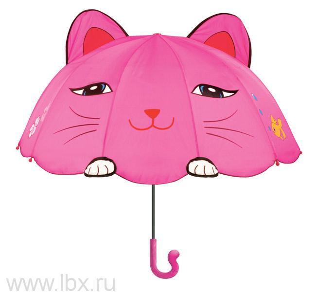 Зонт-трость детский Kidorable (Кидорабл) Счастливая Кошечка- увеличить фото
