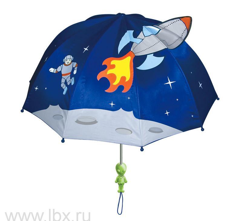 Зонт-трость детский Kidorable (Кидорабл) Космонавт