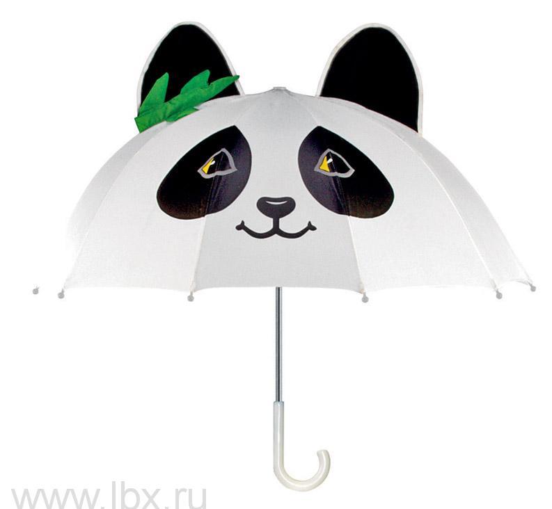 Зонт-трость детский Kidorable (Кидорабл) Панда