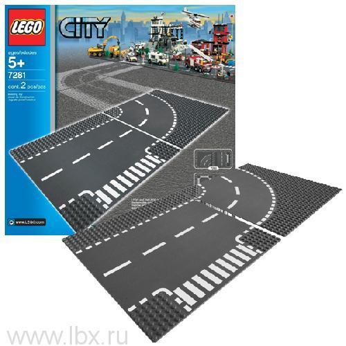 Т-образная развязка Lego City (Лего Город)