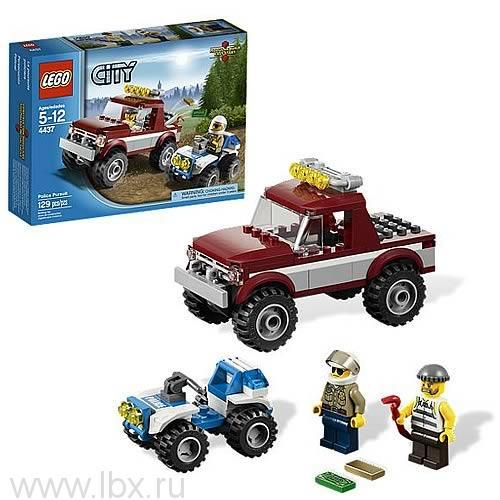 Полицейская погоня Lego City (Лего Город)