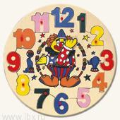 Паззл-часы `Клоун` Bino (Бино)